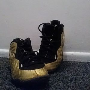 Gold Nike Posites